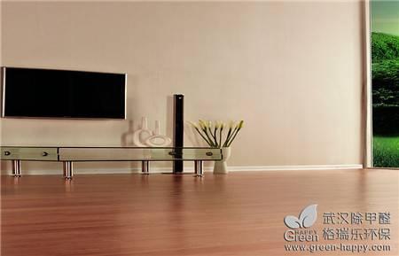 实木地板是取材于天然木材